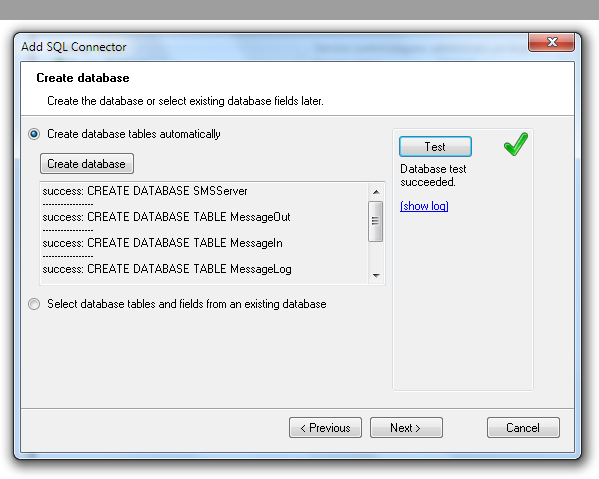 SQL Database Driven SMS Gateway | Diafaan SMS Server