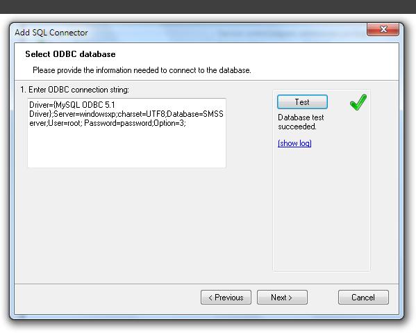 SQL Database Driven SMS Gateway | Diafaan SMS Server