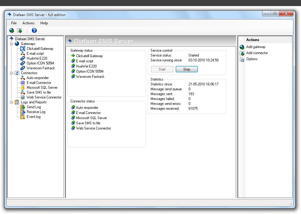 Diafaan Message Server 4.5.0.0 full