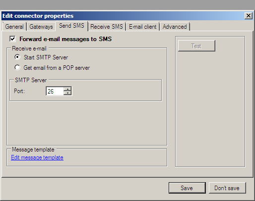 how to connect computer to send email from localhost