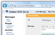 Diafaan SMS Server screenshot